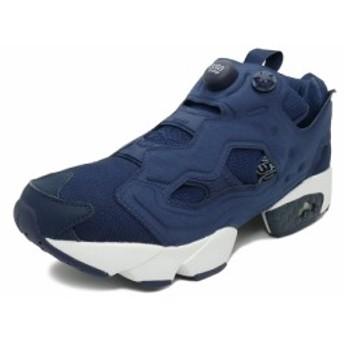 スニーカー リーボック REEBOK インスタポンプフューリーOG カレッジネイビー/ホワイト メンズ レディース シューズ 靴