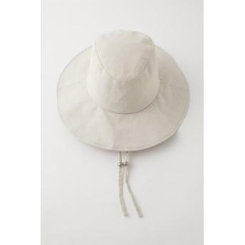 マウジー moussy FISHERMAN HAT (ライトベージュ)