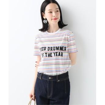 SLOBE IENA 【etre cecile /エトレ セシル】RAINBOW Tシャツ その他カラー K フリー