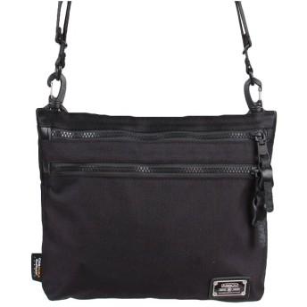 カバンのセレクション アッソブ サコッシュ AS2OV バリスティックナイロン ショルダーバッグ メンズ ASSOV 061316 ユニセックス ブラック 在庫 【Bag & Luggage SELECTION】