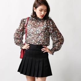 ミニスカート - WEGO【WOMEN】 プリーツミニスカート BS17AU10-L003