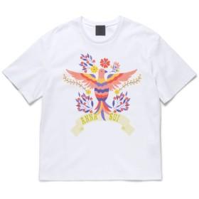 アナスイ ANNA SUI × GINZA鳥柄Tシャツ レディース シロ S 【ANNA SUI】