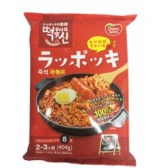 [ドンウォン / DONGWON] トッポッキの神 サリ麺簡単トッポッキ 404g / 韓国食品 / 超簡単レシピ / 韓国トッポッキ (海外直送) (404g × 1