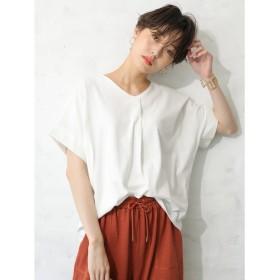 【オンワード】 koe(コエ) スキッパーTシャツ Off White F レディース 【送料無料】