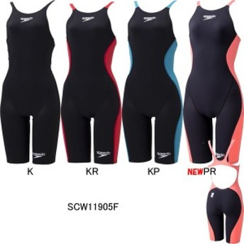 スピード(SPEEDO)女性用 競泳水着 S・Drake(エス・ドレーク)ウイメンズニースキン SCW11905F
