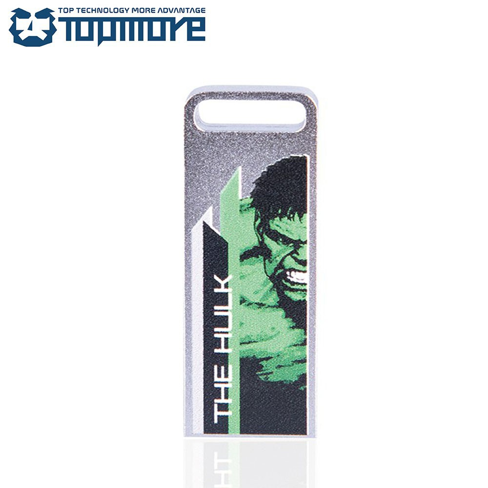TOPMORE ZXM USB3.0 漫威復仇者聯盟彩版經典隨身碟 64GB/鋼鐵人/美國隊長/浩克【免運】