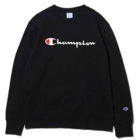 (atmos/アトモス)チャンピオン クルー ネック スウェットシャツ/メンズ ブラック