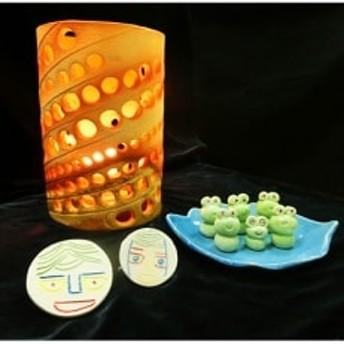 ~世界に一つだけの手作り品~ 信楽焼き・陶器3点セット