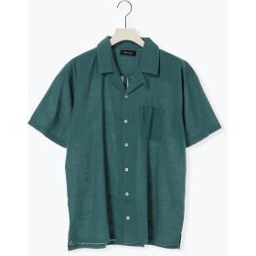 【6,000円(税込)以上のお買物で全国送料無料。】リネンライクオープンカラーシャツ