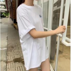 カットソー - TOTTY オーバーサイズプリントTシャツ