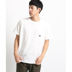 【55%OFF】 ザ ショップ ティーケー さらさら無地ポケットTシャツ メンズ オフホワイト(003) 04(LL) 【THE SHOP TK】 【タイムセール開催中】