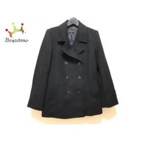 インディビ INDIVI コート サイズ41 レディース 美品 黒 ショート丈/冬物 新着 20190707
