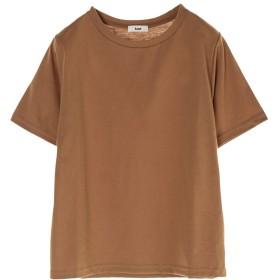 【オンワード】 koe(コエ) OE天竺クルーネックTシャツ Dark Beige F レディース 【送料無料】