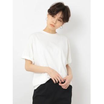 【オンワード】 koe(コエ) オーガニックコットンユニセックスTシャツ White F 【送料無料】