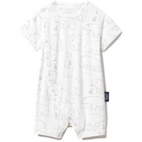 ジェラートピケ gelato pique 【BABY】【シロクマフェア】冷感 baby ロンパース (オフホワイト)
