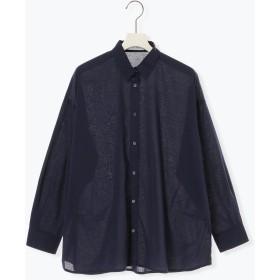 【5,000円以上お買物で送料無料】ボイル2WAY BIGシャツ