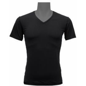 リベルタ フリーズテック 冷却 Vネックインナーシャツ MENS Mサイズ ブラック