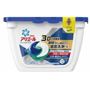 P&G 4902430675864 衣類用洗剤 アリエール パワージェルボール3D 本体 18コ
