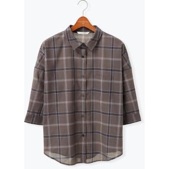 【6,000円(税込)以上のお買物で全国送料無料。】ドルマンシャツ 7S