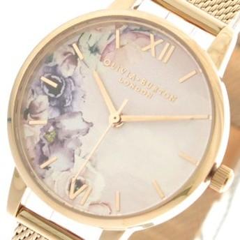 オリビアバートン OLIVIA BURTON 腕時計 レディース OB16PP39 クォーツ ピンクゴールド マルチカラー