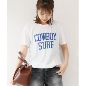 (Spick & Span/スピック&スパン)【RXMANCE】 Cowboy Surf T◆/レディース ホワイト 送料無料