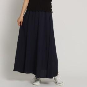 [マルイ]【セール】【Lサイズ、Sサイズあり・洗える】麻レーヨンフレアマキシスカート/デッサン(レディス)(Dessin Ladies)