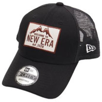 【Super Sports XEBIO & mall店:帽子】9FORTY トラッカー ニューエラマウンテン ブラック 11897312