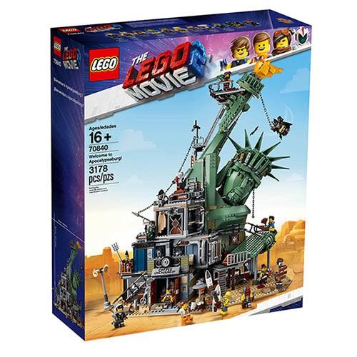 LEGO 樂高 70840 歡迎光臨 : 阿波卡天啟堡 樂高玩電影系列 < JOYBUS >