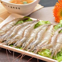 [賣魚的家]台灣特選鮮凍白蝦 3盒組(230g±3%盒)