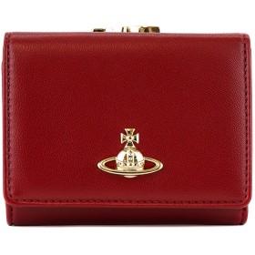 Vivienne Westwood ヴィヴィアンウエストウッド 三つ折り財布 51010018 40564 EMMA SMALL FRAME WALLET レディース 女性 オーブ H401 RED
