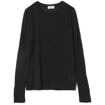 ビームス ウィメン Ray BEAMS High Basic / スクープネック ロングスリーブ Tシャツ レディース BLACK ONESIZE 【BEAMS WOMEN】