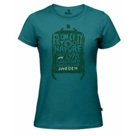 フェイルラーベン Kanken Tシャツ W 89978-664 (Lady's)