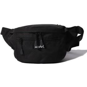 エックスガール BOX LOGO HIP BAG レディース ブラック ONE SIZE 【X-girl】