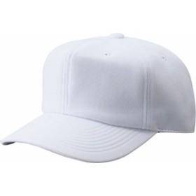 ZETT(ゼット) 野球 帽子 六方 ニット 角型 練習用キャップ BH762 ホワイト(1100) M