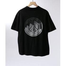 (EDIFICE/エディフィス)Paris Saint-Germain TOKYO/パリサンジェルマン Parc des prince Tsh/メンズ ブラック 送料無料