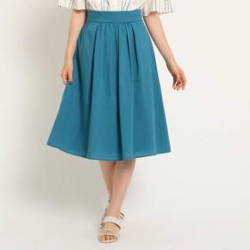 【洗える】センターギャザースカート