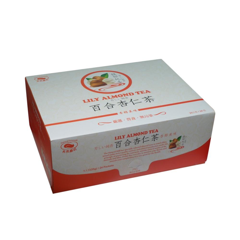 《天然磨坊》百合杏仁茶 25公克*24包/盒