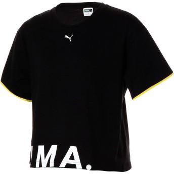 【プーマ公式通販】 プーマ CHASE ウィメンズ SS Tシャツ 半袖 ウィメンズ Cotton Black |PUMA.com