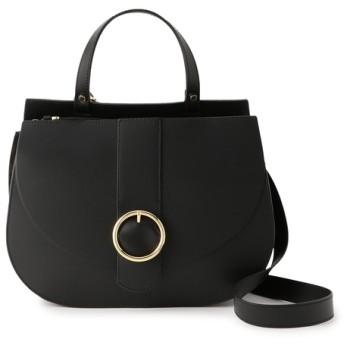 LORISTELLA / ショルダーストラップ付きワンハンドルバッグ ブラック/FREE(エストネーション)◆レディース ハンドバッグ
