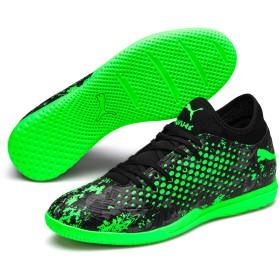 【プーマ公式通販】 プーマ フューチャー 19.4 インドアトレーニング メンズ Black-Gray-Green Gecko |PUMA.com