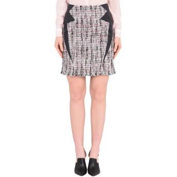 《9/20まで! 限定セール開催中》KARL LAGERFELD レディース ひざ丈スカート ブラック 38 合成繊維 46% / コットン 21% / レーヨン 15% / アクリル 14% / バージンウール 4% Satin Trimmed Boucle Skirt