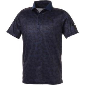 【プーマ公式通販】 プーマ ゴルフ ハニカム カモ コア SSポロシャツ 半袖 メンズ Peacoat |PUMA.com