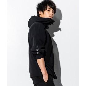SHIFFON hummel(ヒュンメル) ストレッチマウンテンジャケット メンズ ブラック M 【SHIFFON】