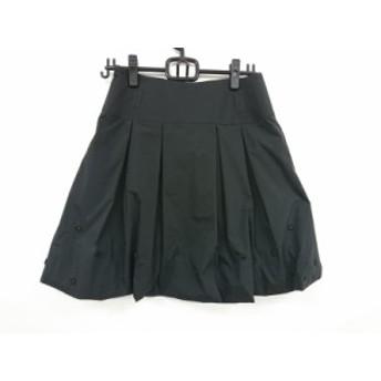 トゥービーシック TO BE CHIC バルーンスカート サイズ40 M レディース 黒 ビジュー【中古】20190705