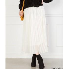 SpRay ラメプリーツスカート ベージュ M レディース 5,000円(税抜)以上購入で送料無料 夏 レディースファッション アパレル 通販 大きいサイズ コーデ 安い おしゃれ お洒落 20代 30代 40代 50代 女性 スカート