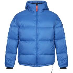 《期間限定セール開催中!》GERTRUDE + GASTON メンズ ダウンジャケット ブルー XS ナイロン 100% / ポリウレタン