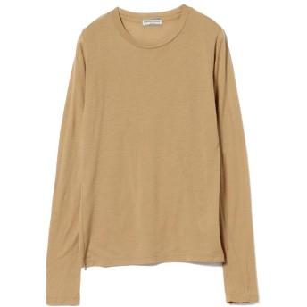 ビームス ウィメン Ray BEAMS High Basic / スクープネック ロングスリーブ Tシャツ レディース CAMEL ONESIZE 【BEAMS WOMEN】