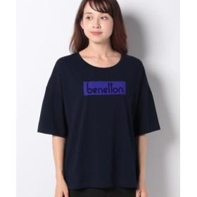 [マルイ]【セール】オーバーサイズブランドロゴTシャツ・カットソー/ベネトン レディース(UNITED COLORS OF BENETTON)