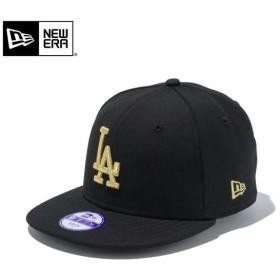 【メーカー取次】NEW ERA ニューエラ Youth キッズ用 9FIFTY MLB ロサンゼルス ドジャース ブラックXゴールドロゴ 11308492 キャップ 子供用 帽子 ブランド