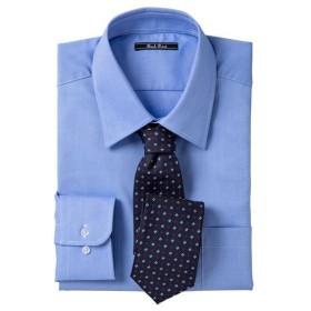 【メンズ】 形態安定カラービジネスシャツ(長袖) ■カラー:レギュラーカラー ■サイズ:M,L,LL